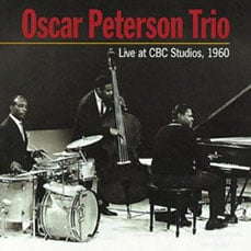 Album cover for Oscar Peterson Trio