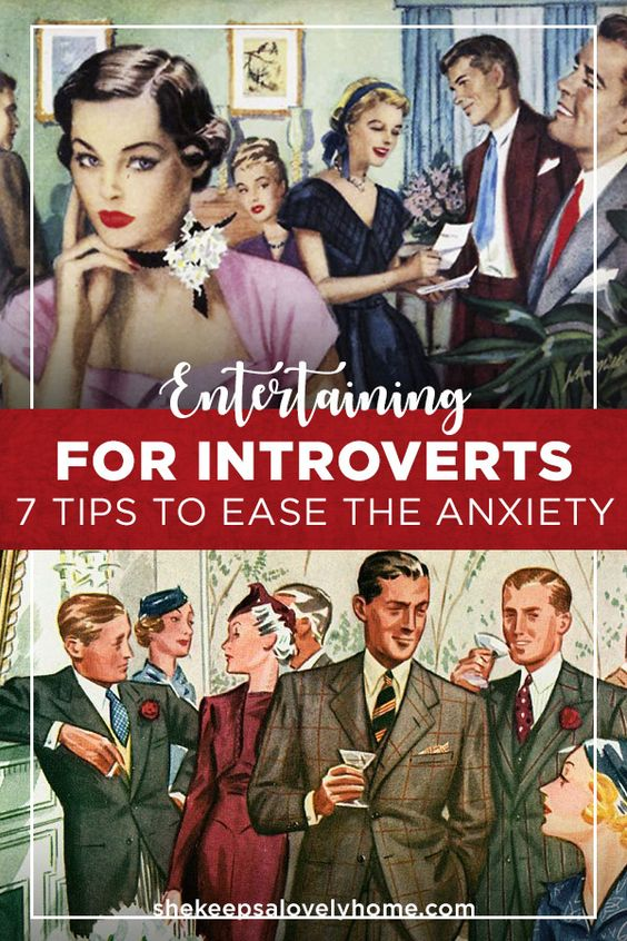With the holiday months approaching, you might be excited to throw parties, but may not be the most social of butterflies. Here are 7 tips to ease the anxiety. #introverts, #parties, #anxiety