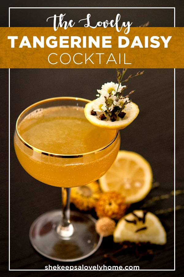 This medicinal little citrus whisky cocktail is perfect for when you're craving a hot toddy, but your fever is a little too high. #cocktails, #autumncocktails, #halloween, #fallrecipes, #halloweenparty, #cocktail