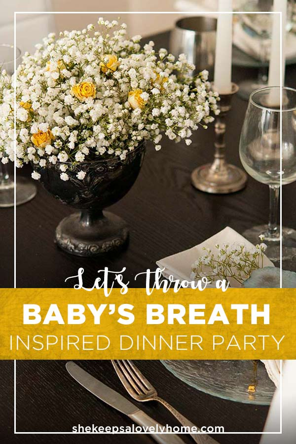On the Menu! A garden-inspired appetizer tray, dill & thyme deviled eggs, stuffed mushrooms, lychee martinis, Beef Bourguignon and a Grand Mariner flan for dessert! #dinnerparty, #flowers, #entertaining