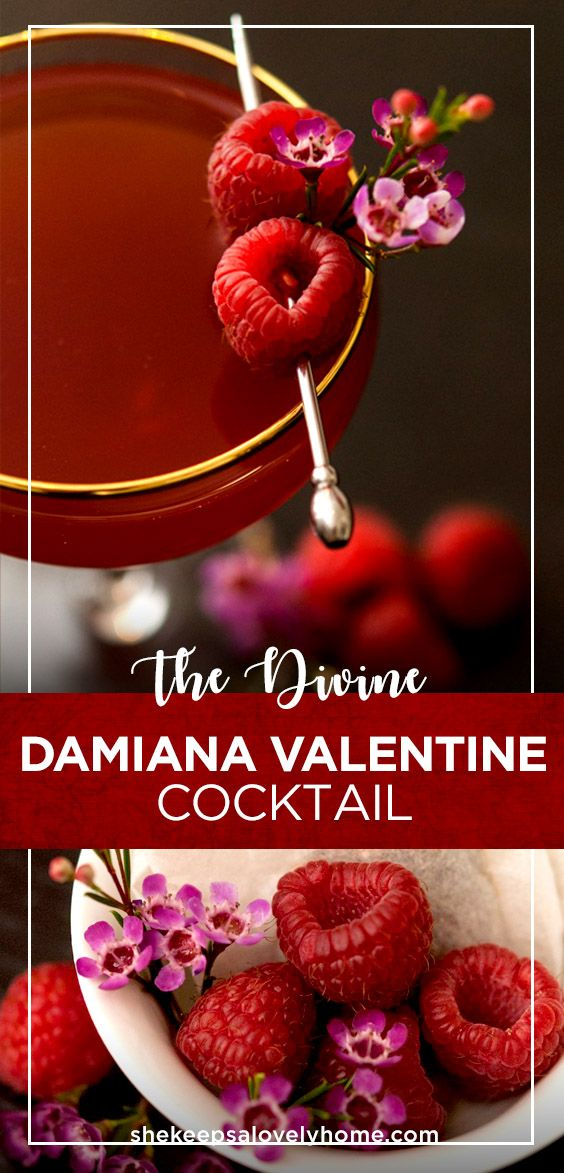 If you're looking for a Valentines Day cocktail to really put you in the mood, this Damiana tea and sake cocktail is a divine Valentine aphrodisiac.#cocktails, #valentinesday